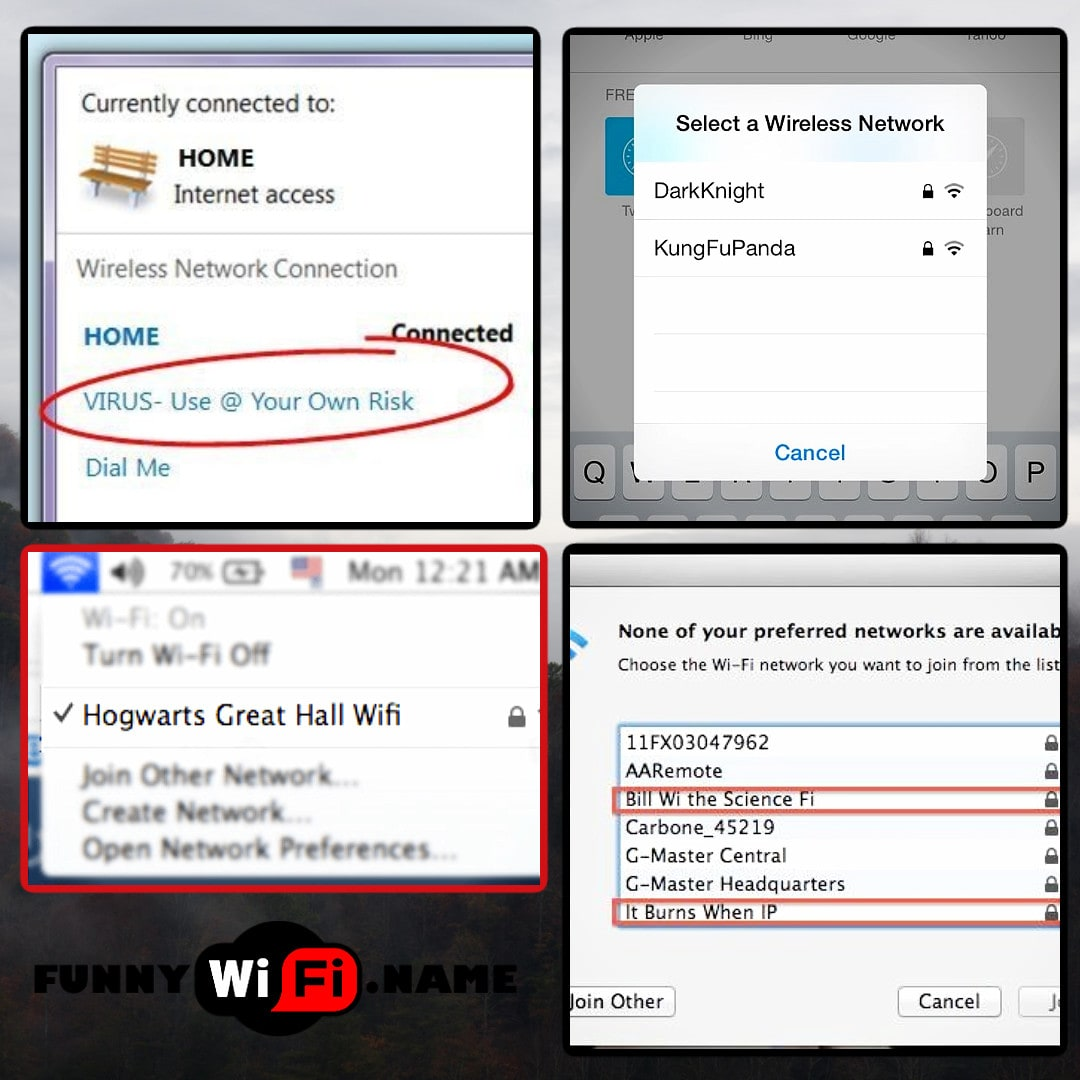 Funny Names For Wifi Router